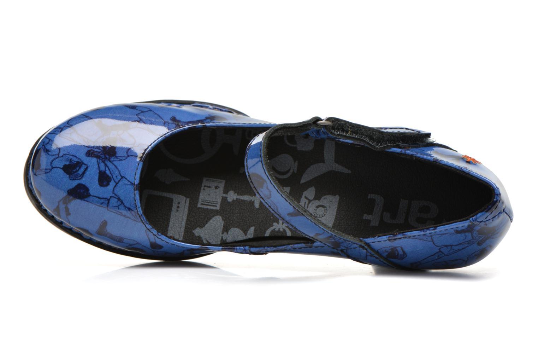 Escarpins Art Harlem 933 Bleu vue gauche