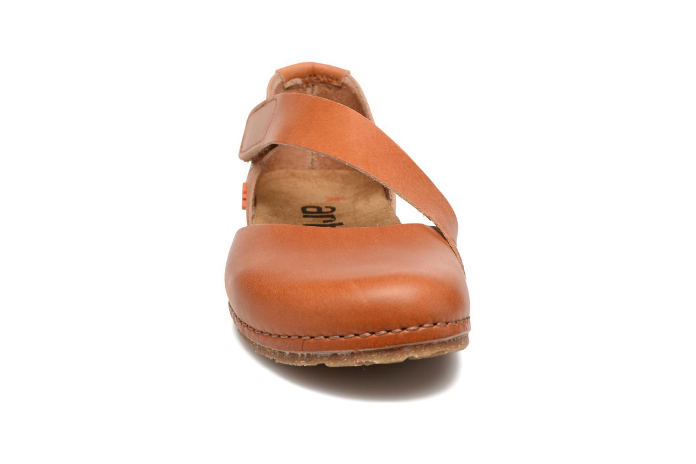 Ballerines Art Creta 442 Orange vue portées chaussures