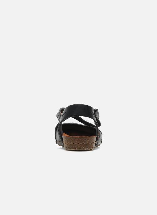 Sandalen Art Creta 449 schwarz ansicht von rechts