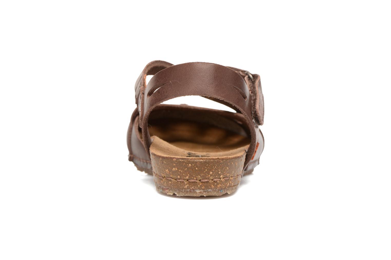 Sandales et nu-pieds Art Creta 449 Marron vue droite