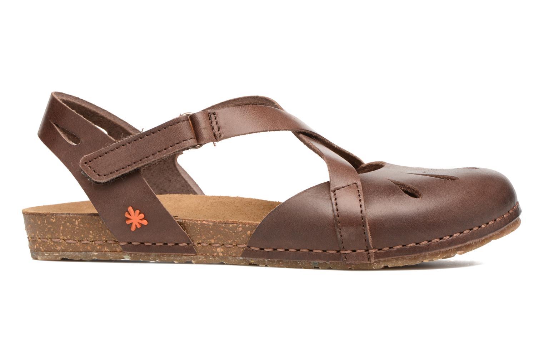 Sandales et nu-pieds Art Creta 449 Marron vue derrière