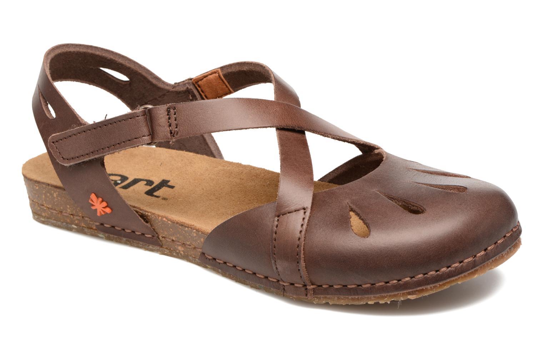 Sandales et nu-pieds Art Creta 449 Marron vue détail/paire