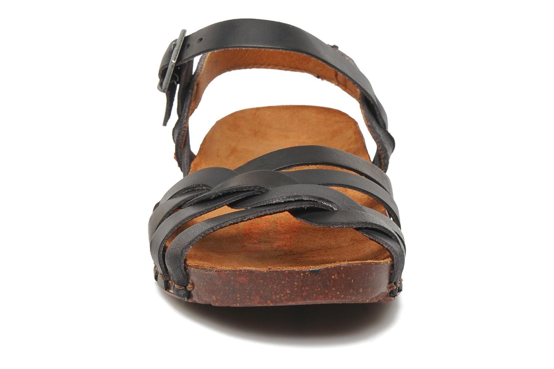 Sandales et nu-pieds Art I Breathe 976 Noir vue portées chaussures
