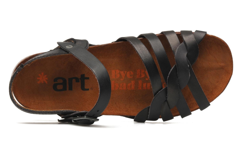 Sandales et nu-pieds Art I Breathe 976 Noir vue gauche