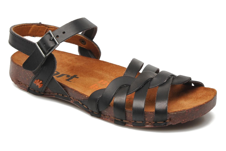 Sandales et nu-pieds Art I Breathe 976 Noir vue détail/paire