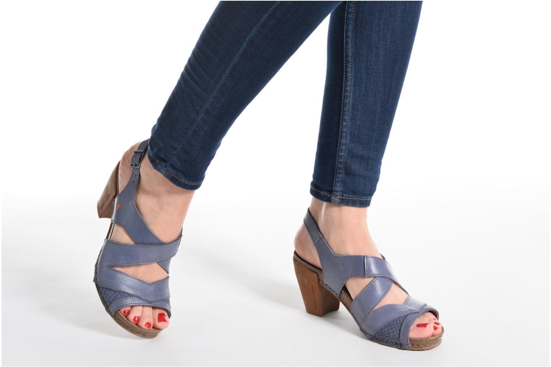Sandales et nu-pieds Art I Feel 235 Bleu vue bas / vue portée sac