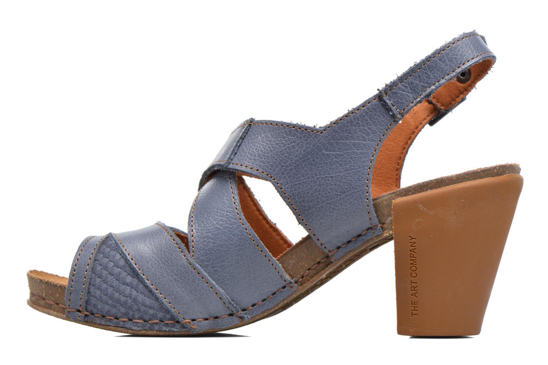 Sandales et nu-pieds Art I Feel 235 Bleu vue face