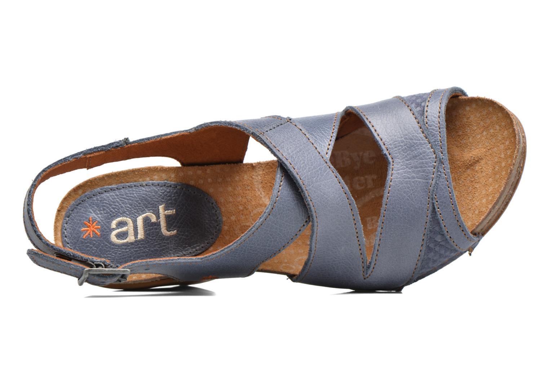Sandales et nu-pieds Art I Feel 235 Bleu vue gauche