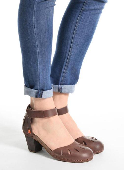 Sandalen Art I Meet 144 schwarz ansicht von unten / tasche getragen