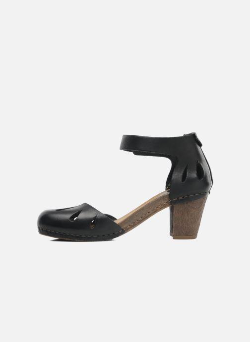 Sandales et nu-pieds Art I Meet 144 Noir vue face