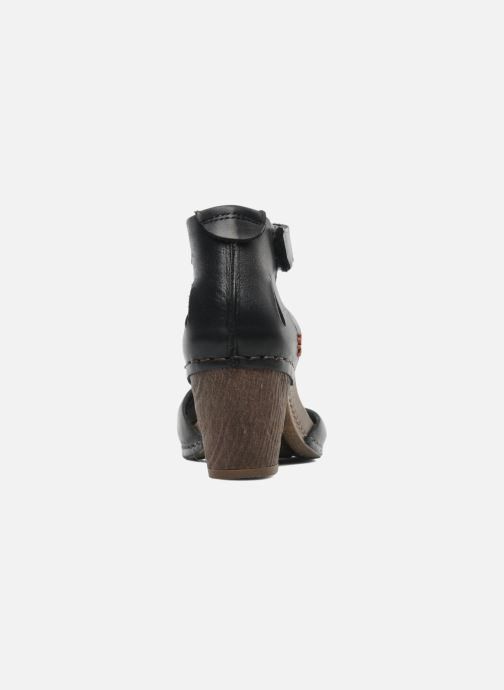Sandales et nu-pieds Art I Meet 144 Noir vue droite