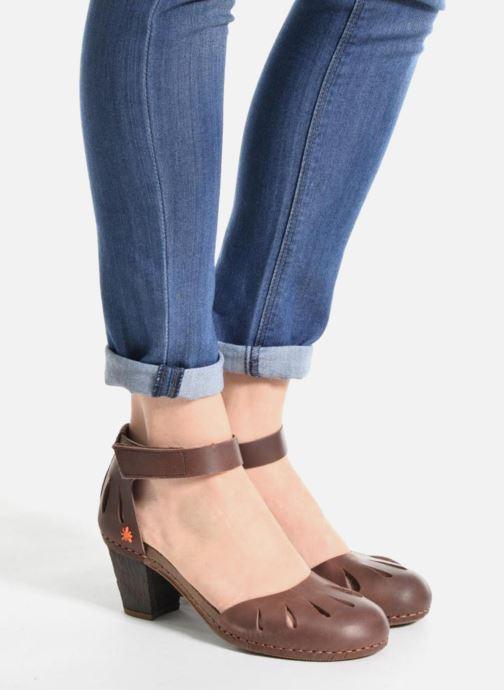 Sandales et nu-pieds Art I Meet 144 Marron vue bas / vue portée sac