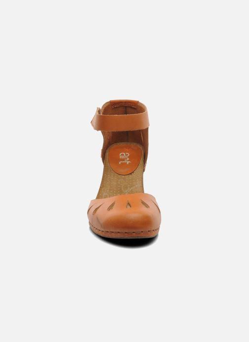 Sandales et nu-pieds Art I Meet 144 Marron vue portées chaussures