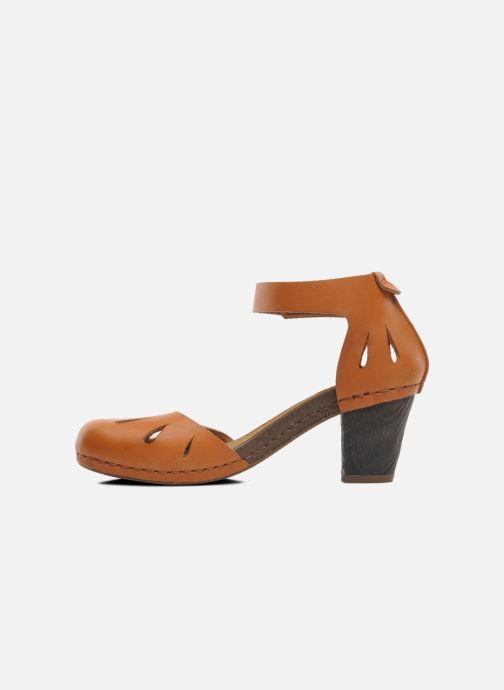 Sandales et nu-pieds Art I Meet 144 Marron vue face