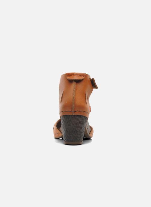 Sandales et nu-pieds Art I Meet 144 Marron vue droite