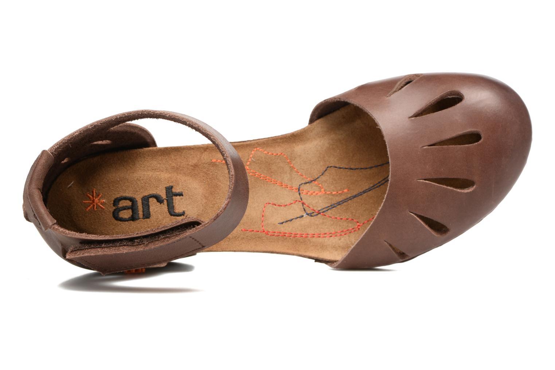 Sandales et nu-pieds Art I Meet 144 Marron vue gauche