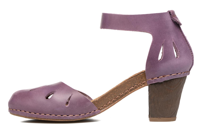 Sandales et nu-pieds Art I Meet 144 Violet vue face