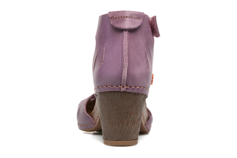 Sandales et nu-pieds Art I Meet 144 Violet vue droite