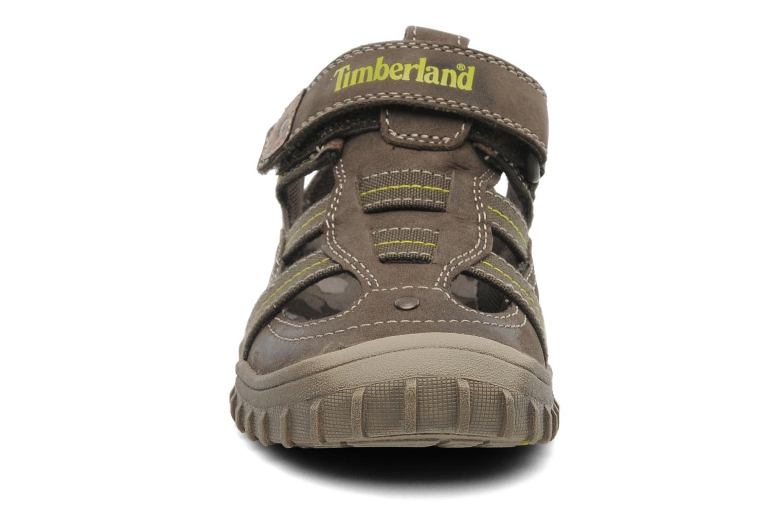 Sneaker Timberland EK Castleton Fisherman braun schuhe getragen