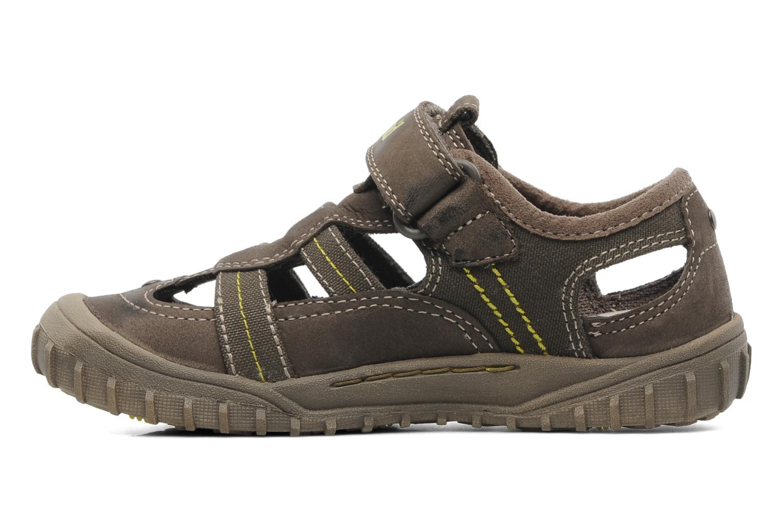 Sneaker Timberland EK Castleton Fisherman braun ansicht von vorne