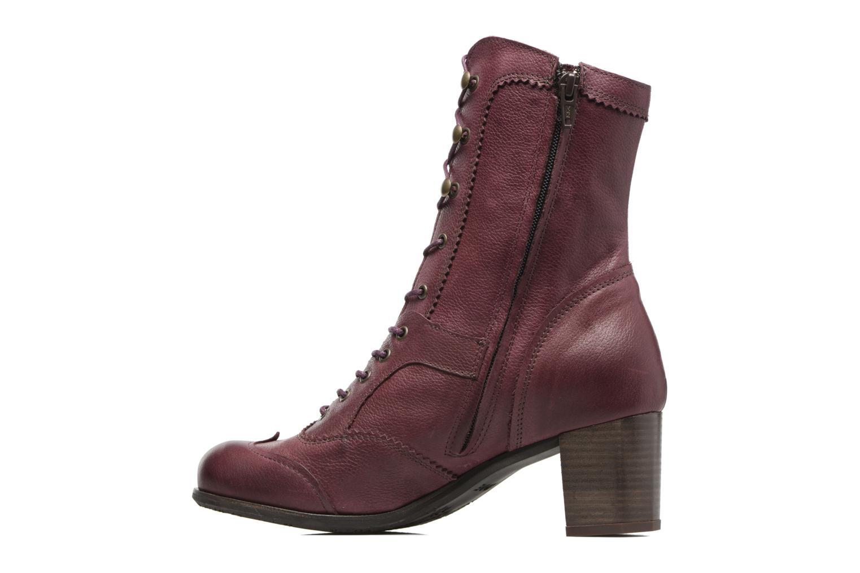 Bottines et boots Dkode Vylma Violet vue face
