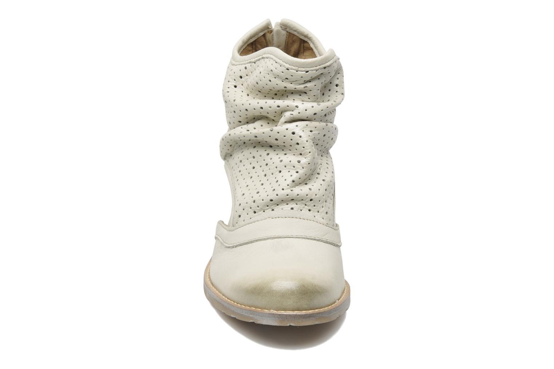 Bottines et boots Dkode Bahal Beige vue portées chaussures