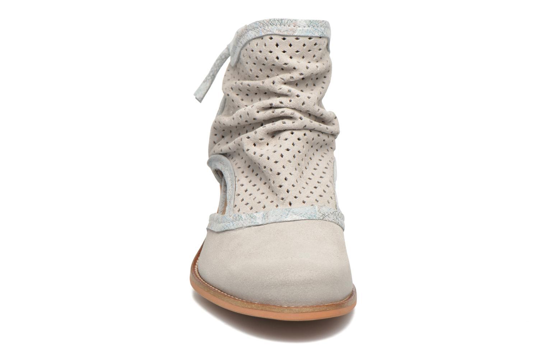 Bottines et boots Dkode Bahal Blanc vue portées chaussures