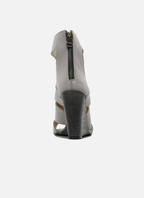 Sandales et nu-pieds Dkode Thetis Gris vue droite