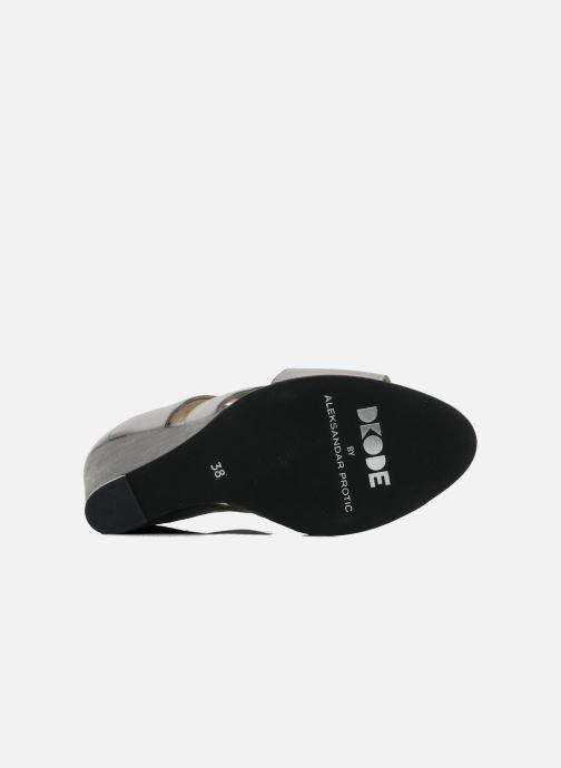 Sandales et nu-pieds Dkode Thetis Gris vue haut
