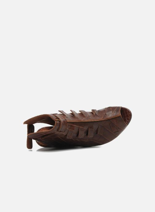 Sandals Dkode Thyone Brown view from the left
