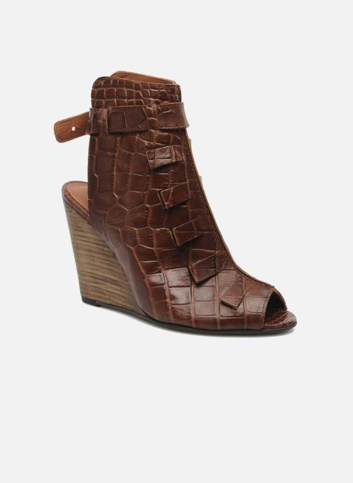 Sandals Dkode Thyone Brown detailed view/ Pair view