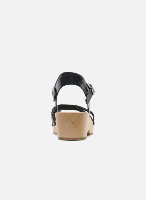 Debutant Black pieds Swedish Hasbeens Et Nu Cross Sandales Strap 4LScq3AR5j