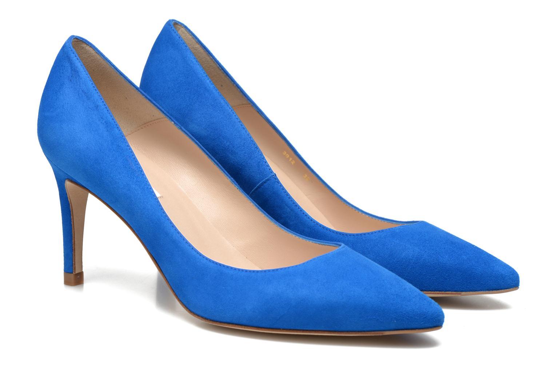Escarpins L.K. Bennett Floret Bleu vue 3/4