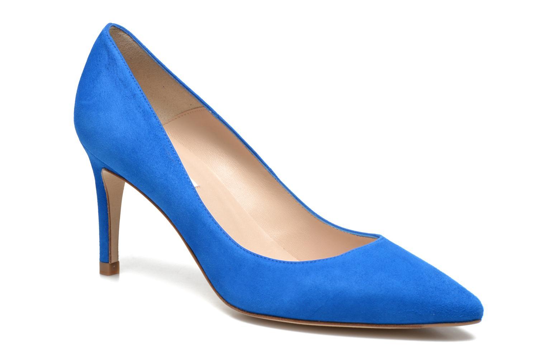 Escarpins L.K. Bennett Floret Bleu vue détail/paire