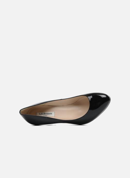 Zapatos de tacón L.K. Bennett Stila Negro vista lateral izquierda
