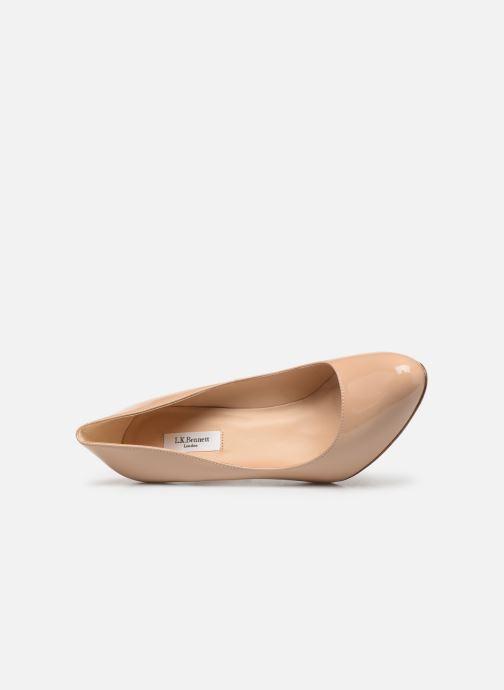 Zapatos de tacón L.K. Bennett Stila Beige vista lateral izquierda