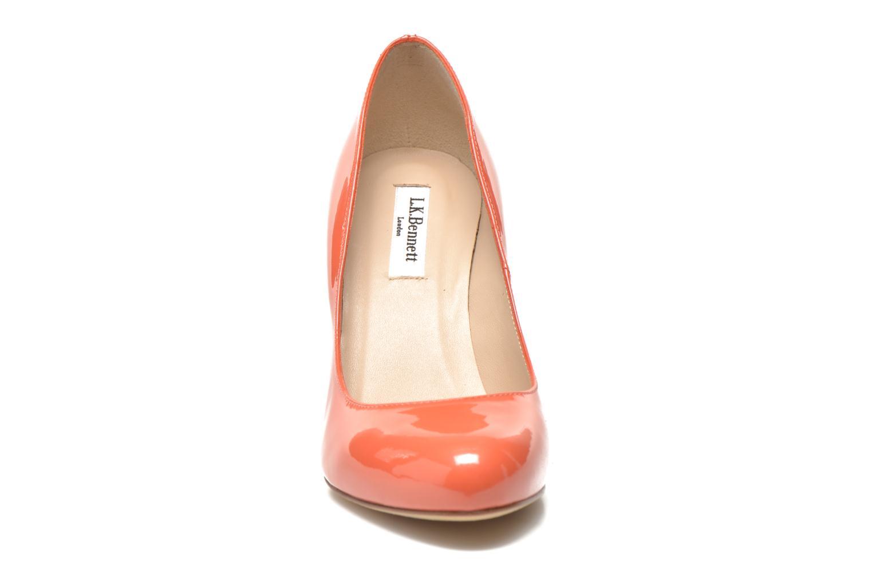 Escarpins L.K. Bennett Stila Orange vue portées chaussures