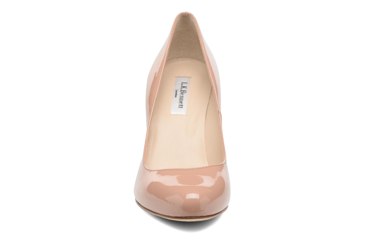 High heels L.K. Bennett Stila Beige model view