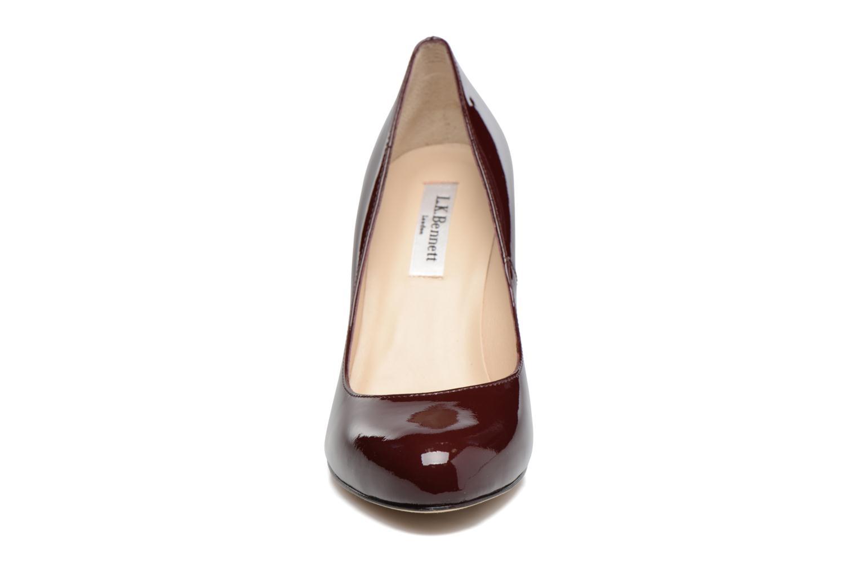 Escarpins L.K. Bennett Stila Bordeaux vue portées chaussures