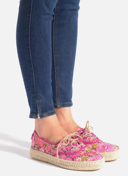 Espadrilles Pare Gabia Lotus Pink view from underneath / model view
