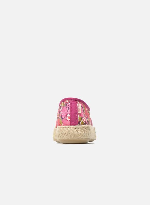 Espadrilles Pare Gabia Lotus Pink view from the right