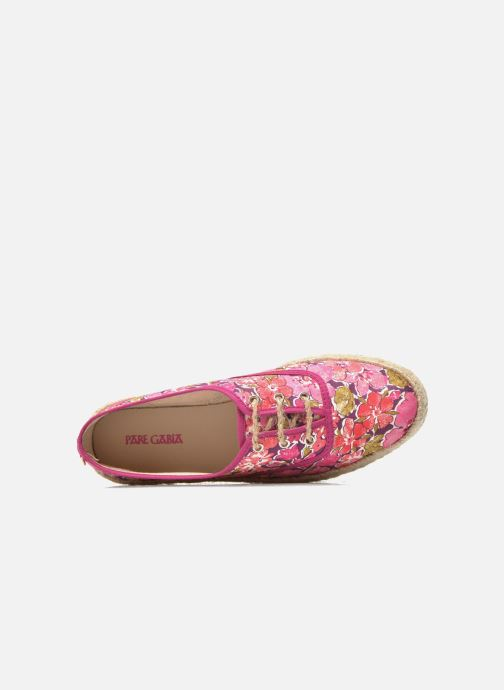 Espadrilles Pare Gabia Lotus Pink view from the left