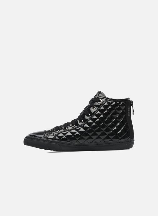 Sneaker Geox D NEW CLUB D D4458D schwarz ansicht von vorne