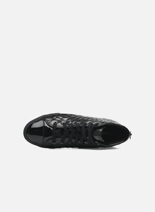 Sneakers Geox D NEW CLUB D D4458D Zwart links