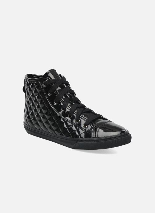 Sneakers Geox D NEW CLUB D D4458D Zwart detail