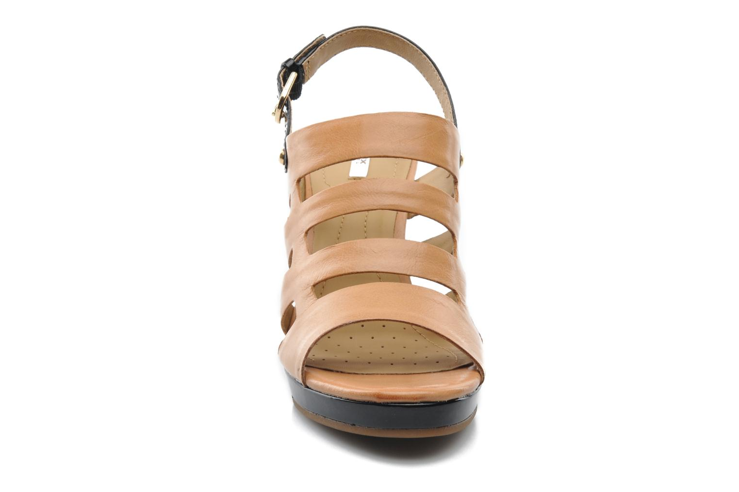 Sandals Geox D Sibilla S. B Beige model view