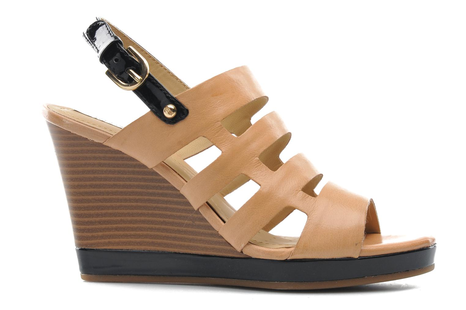 Sandals Geox D Sibilla S. B Beige back view
