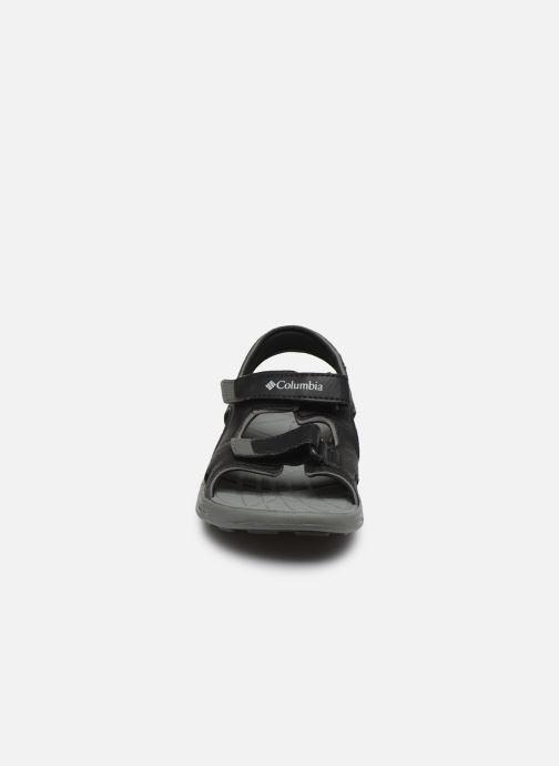 Chaussures de sport Columbia Youth Techsun Vent Noir vue portées chaussures