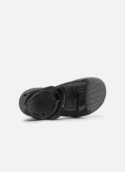 Chaussures de sport Columbia Youth Techsun Vent Noir vue gauche