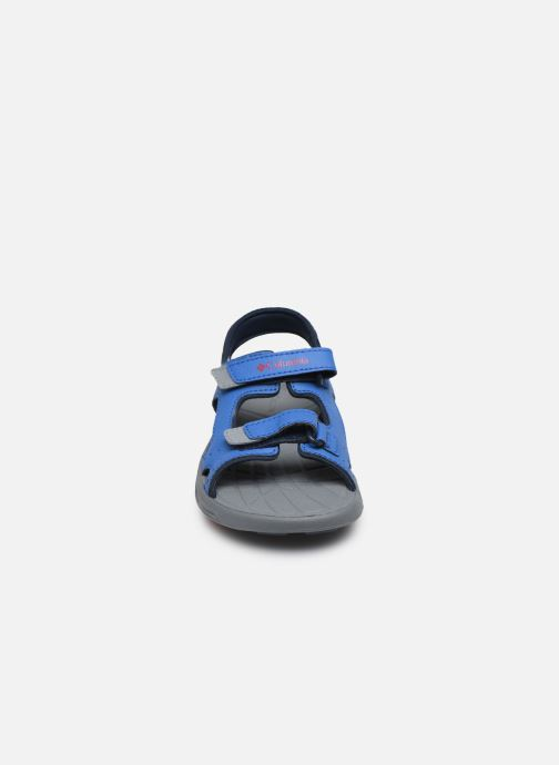 Zapatillas de deporte Columbia Youth Techsun Vent Azul vista del modelo
